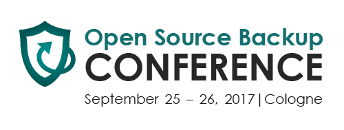 Logo Open Source Backup Conference
